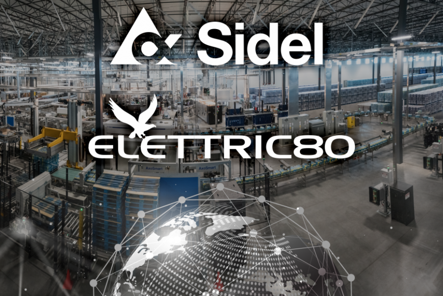 Elettric80 and Sidel enter strategic alliance to provide combined packaging line and intralogistics solutions