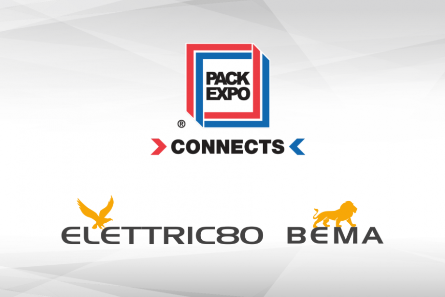 PACK EXPO CONNECTS, THE FIRST-EVER VIRTUAL TRADE SHOW FOR ELETTRIC80 AND BEMA