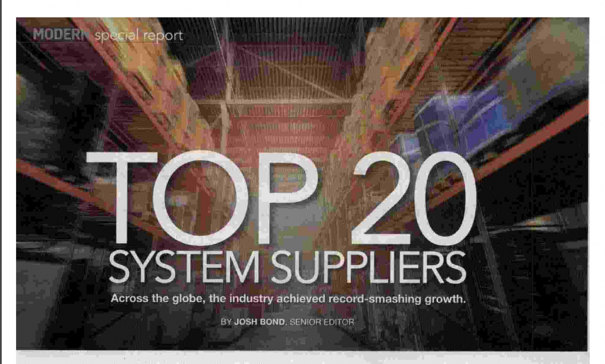 TOP 20 SYSTEM SUPPLIERS