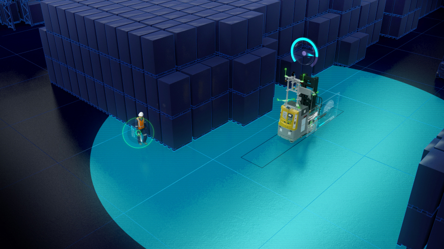 The new collision avoidance system that increases the reliability of Industry 4.0